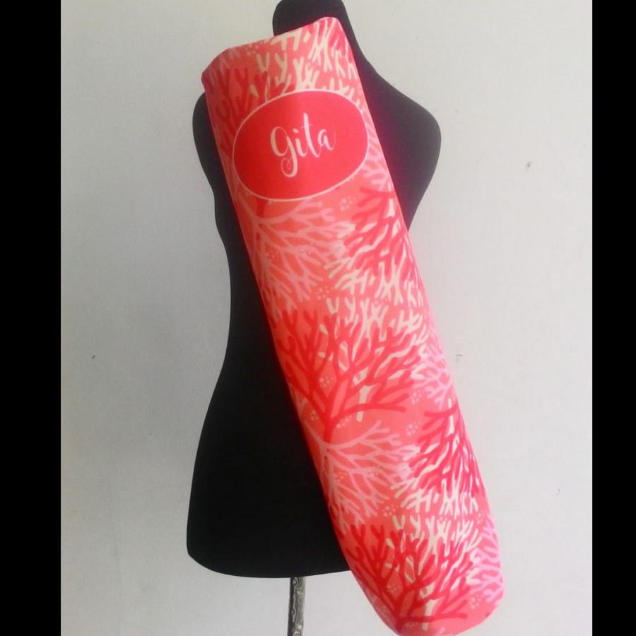 Yoga Mat Bag Coral Seri 2 Red