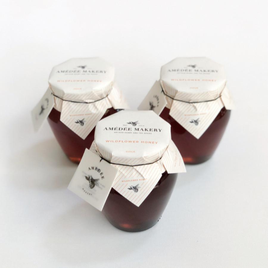 Wildflower Honey Pot - Amedee Makery