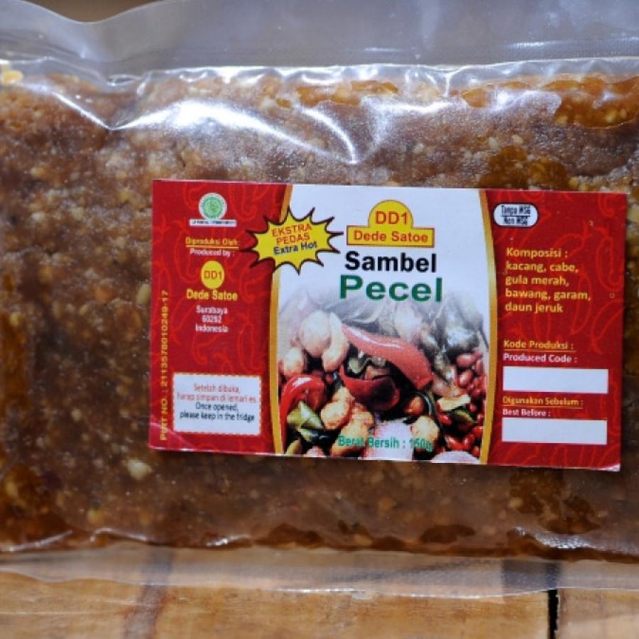 Sambal/ Sambel/ Bumbu Pecel DD1 (Dede Satoe)