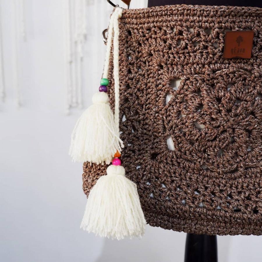 Mudejar Sling Bag Dark Brown