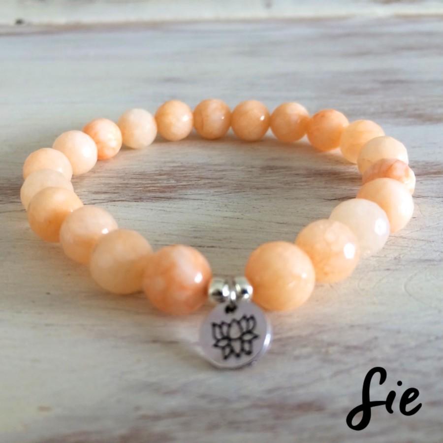 Gelang Peach Lotus