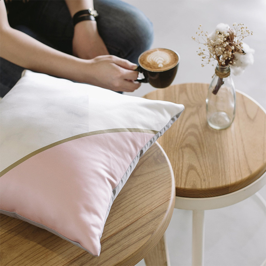 Pink Bliss Cushion 40 x 40