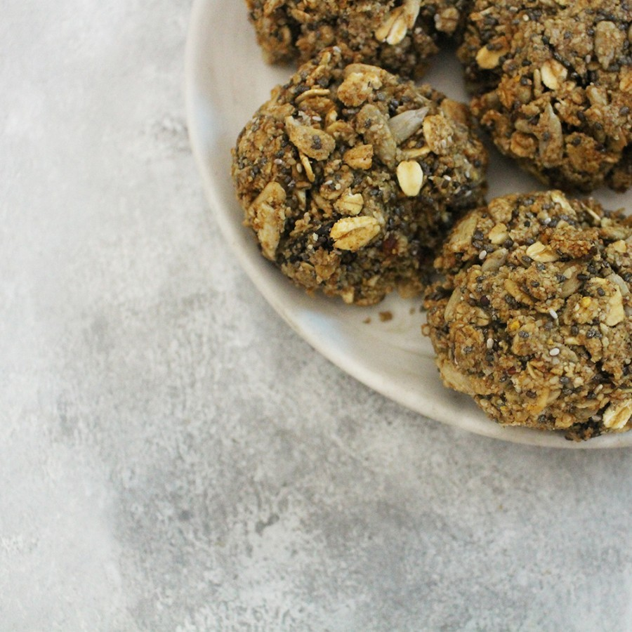 Vegan Nutty Seeds Cookies
