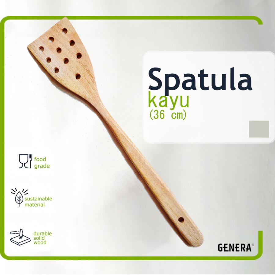 GENERA Spatula Kayu (Bolong)