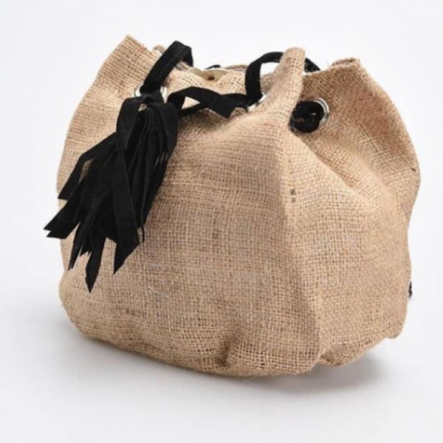 Mini Bag Burlap