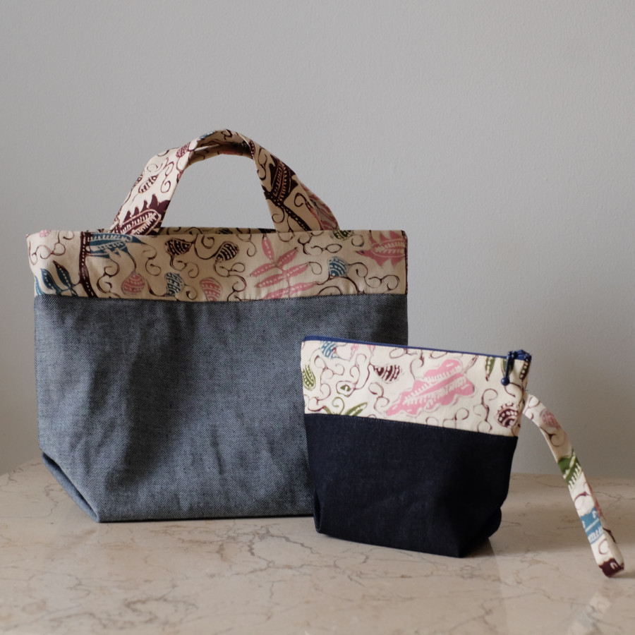 Batik Handbag dan Pouch - Indramayu