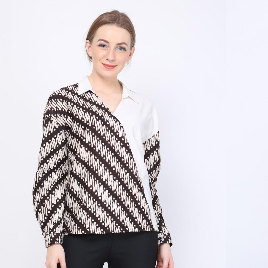 Batik Dirga Amalthea Atasan Wanita / Blouse Batik