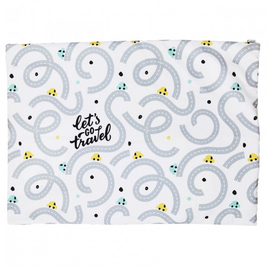 Let's Go Travel Rug 100 x 140