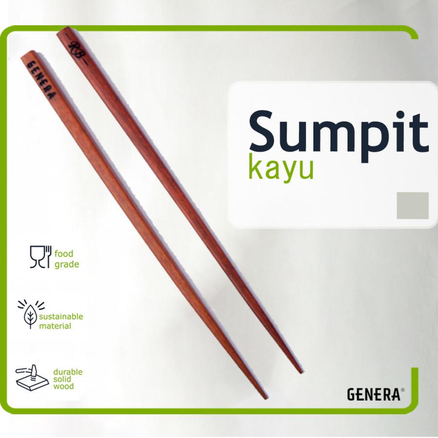 GENERA Sumpit Kayu