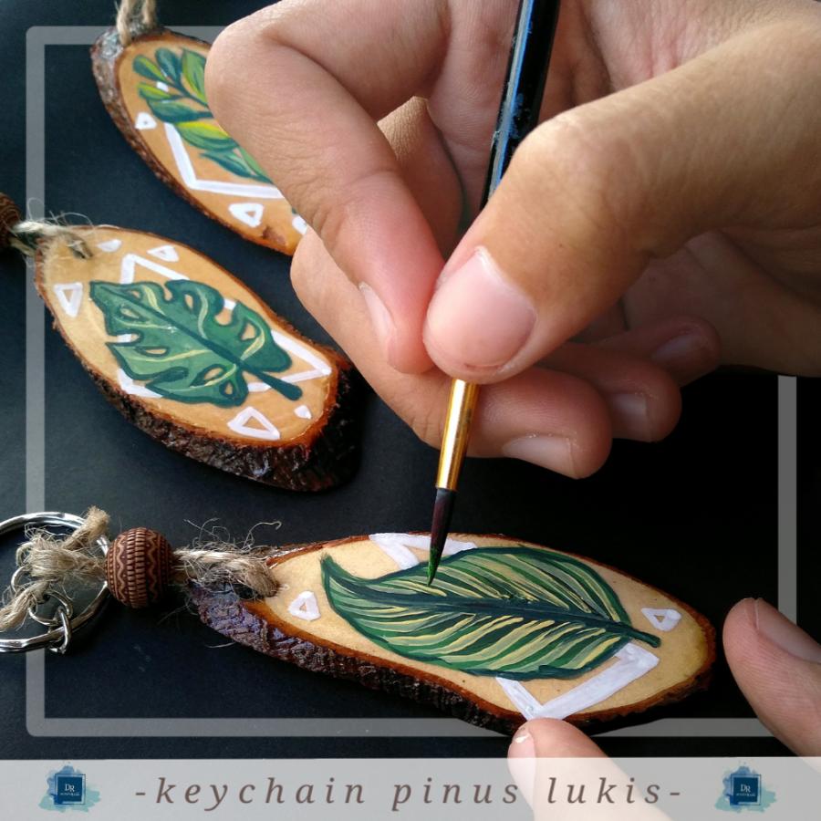 Wood Keychain Custom