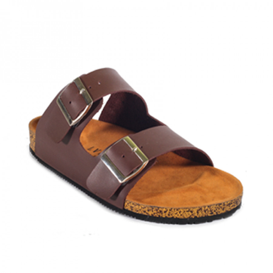 Lvnatica Footwear Cracker Brown | Sendal Jepit Pria Casual