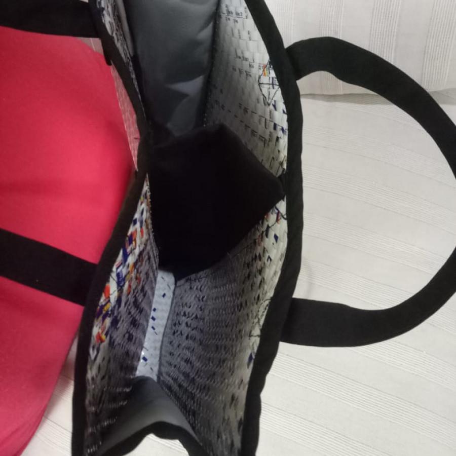 Tas daur ulang / recycle bag - Wine Bag Double