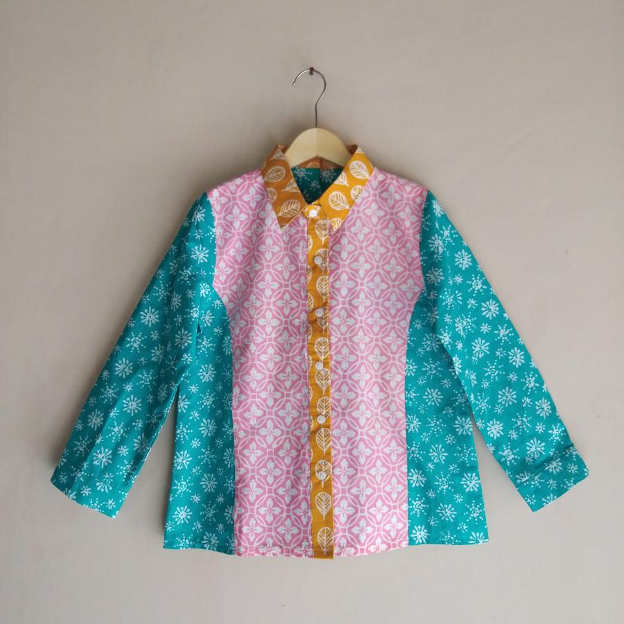 Blouse Batik Cap Anak Kalika 02