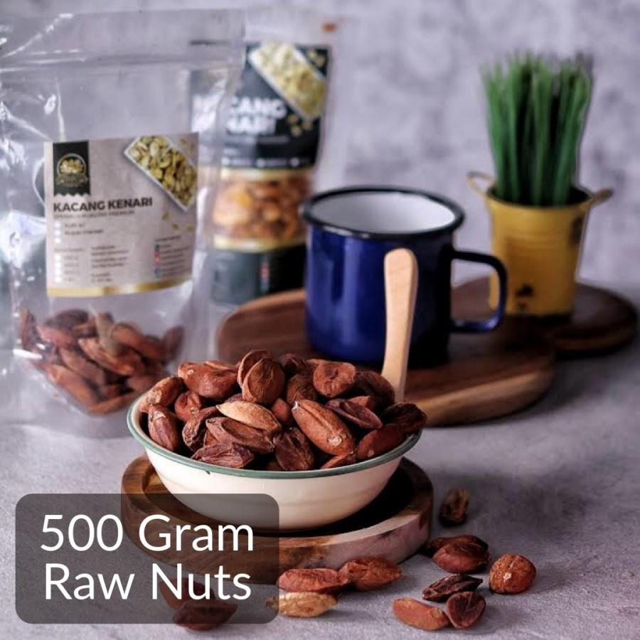 500 Gram Raw Kenari Nuts