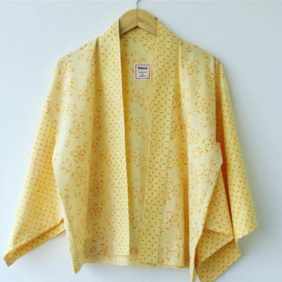 Atasan kimono Batik Sashiko