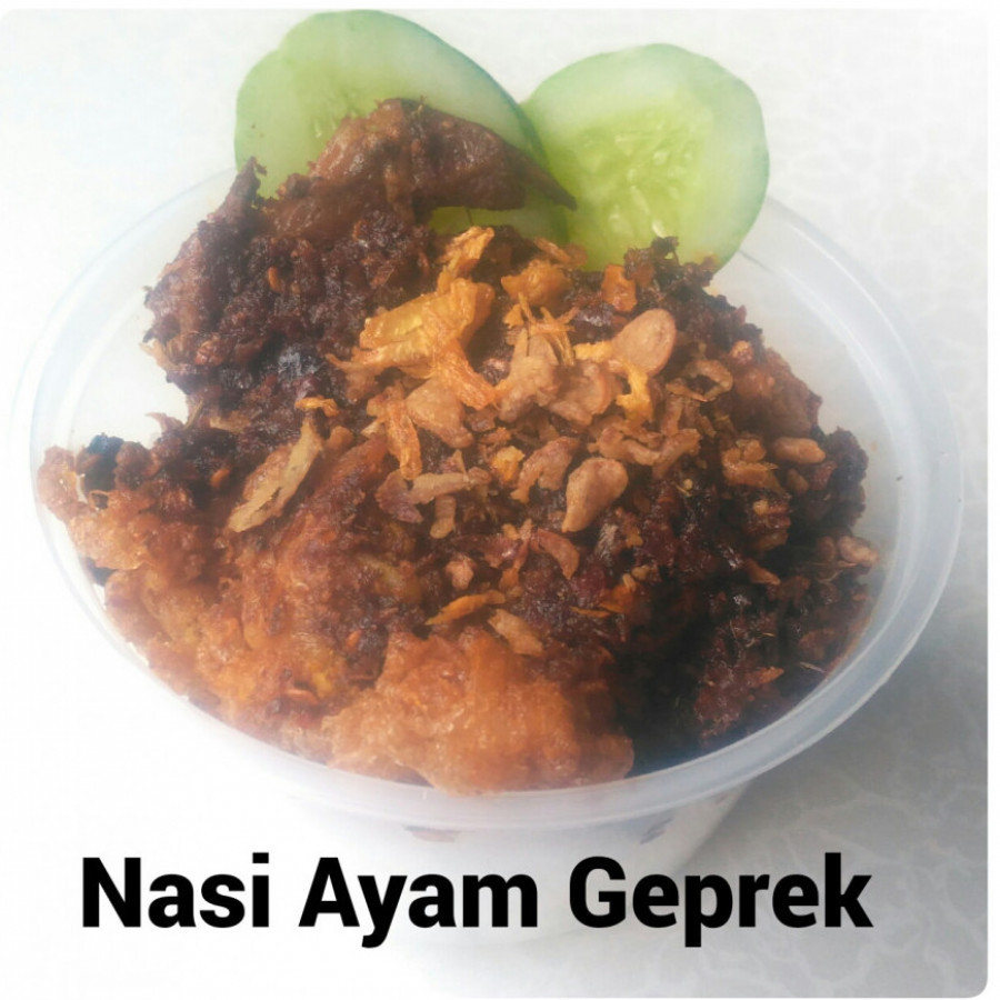 Ayam Geprek Garlic Rice