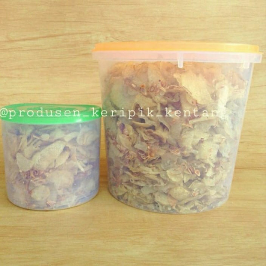 Keripik Kentang Ebi Ong 300 Gram (4 Toples)