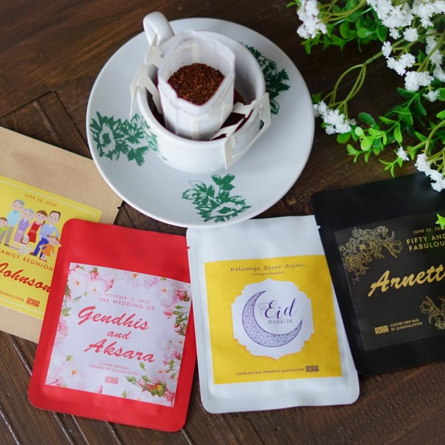 Souvenir Pernikahan Coffee Drip Kopi Arabika Robusta