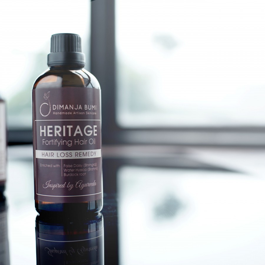 Heritage - Fortifying Hair Oil (100 ml)