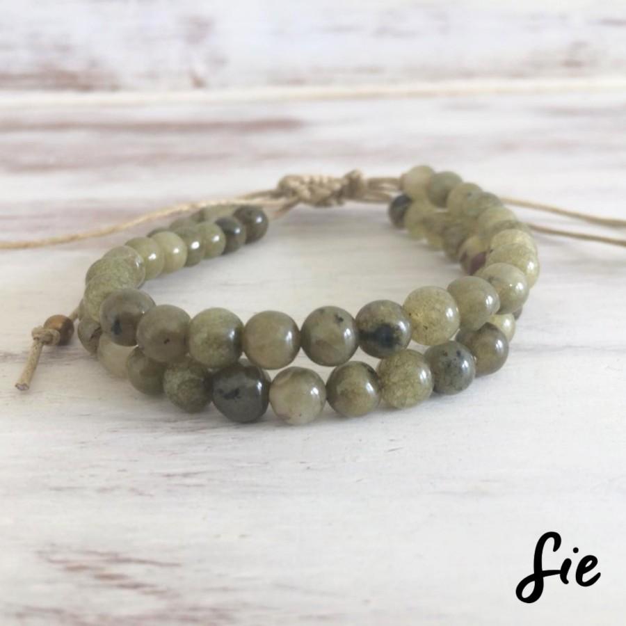 Gelang Tali Green Olive