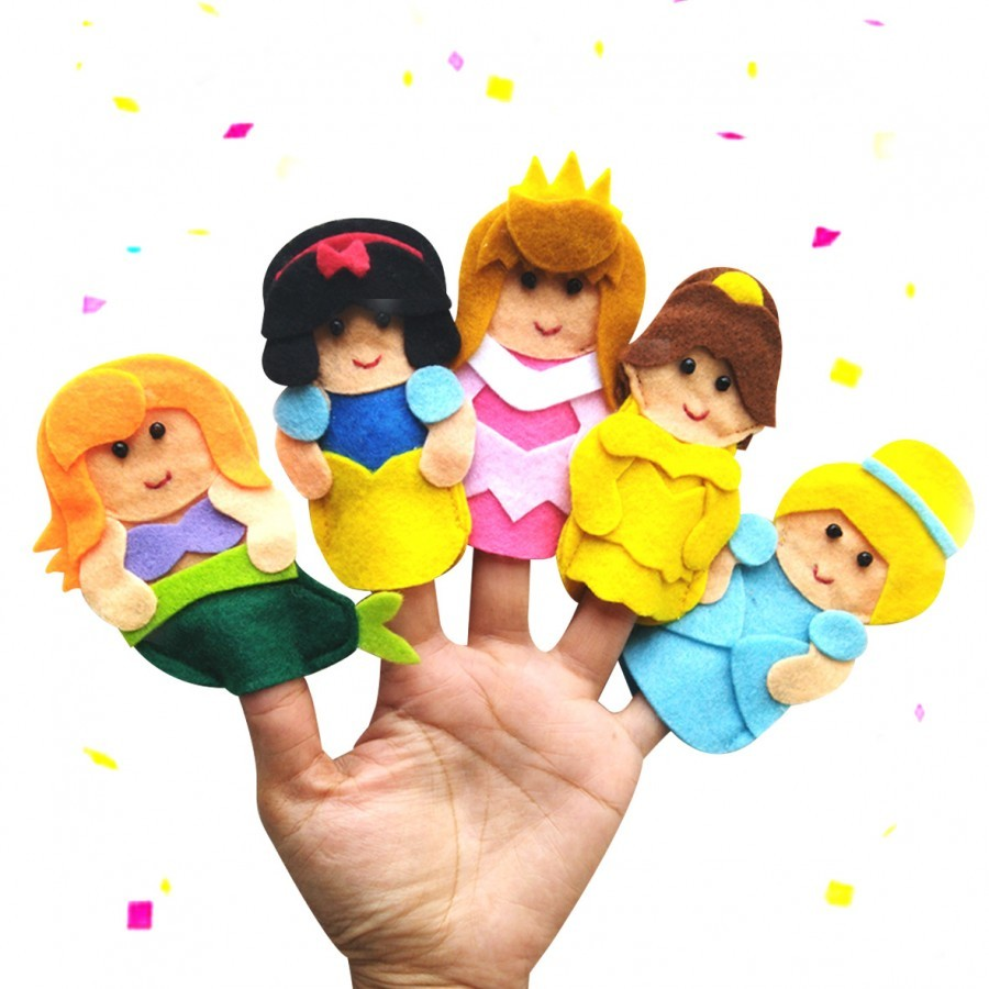 Finger Puppet Princess Series