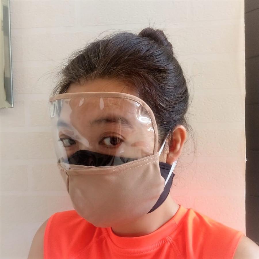 GESYAL Masker Kain 3 lapis  Masker Kombinasi  SET 1