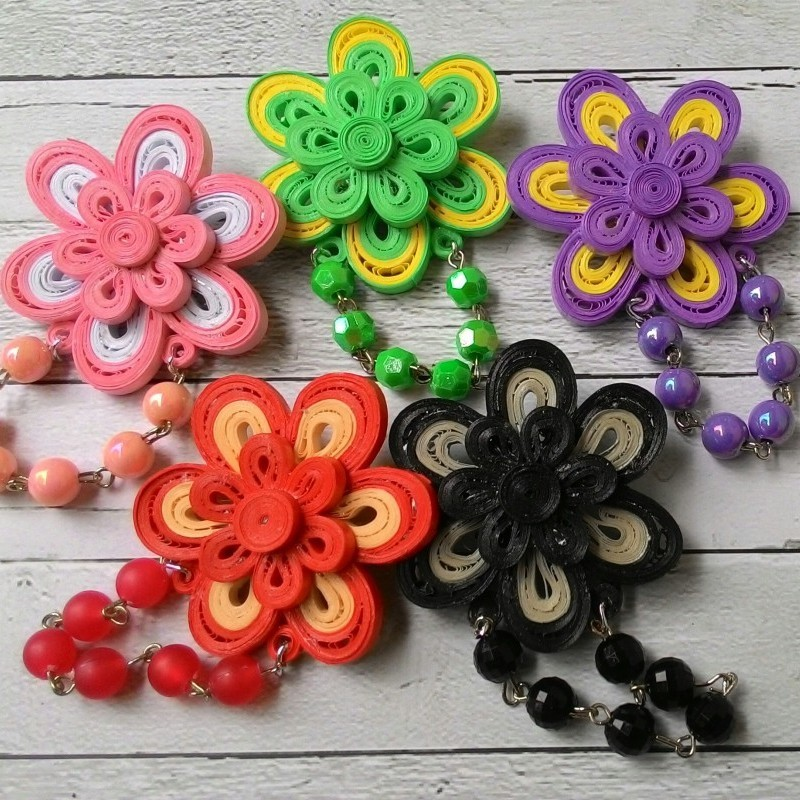 contoh gambar paper quilling