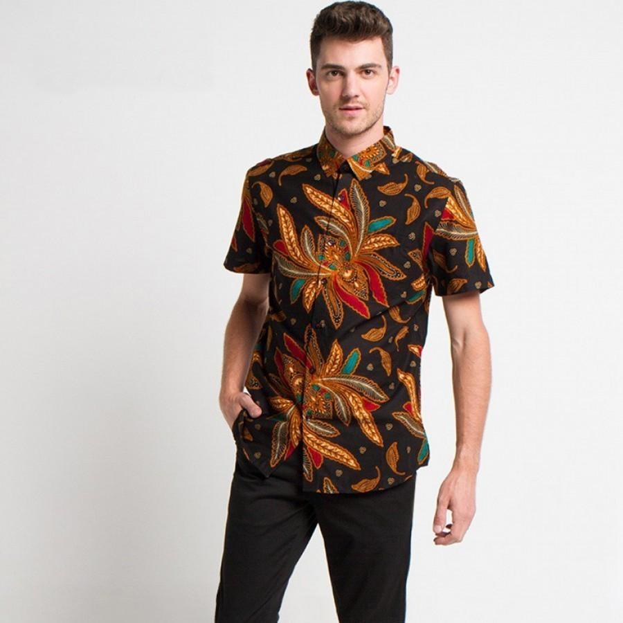 [Arthesian] Kemeja Batik Pria - Brucea Batik Printing