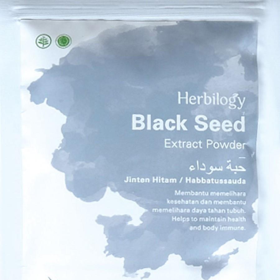 Herbilogy Black Seed (Jinten Hitam) Extract Powder 100g
