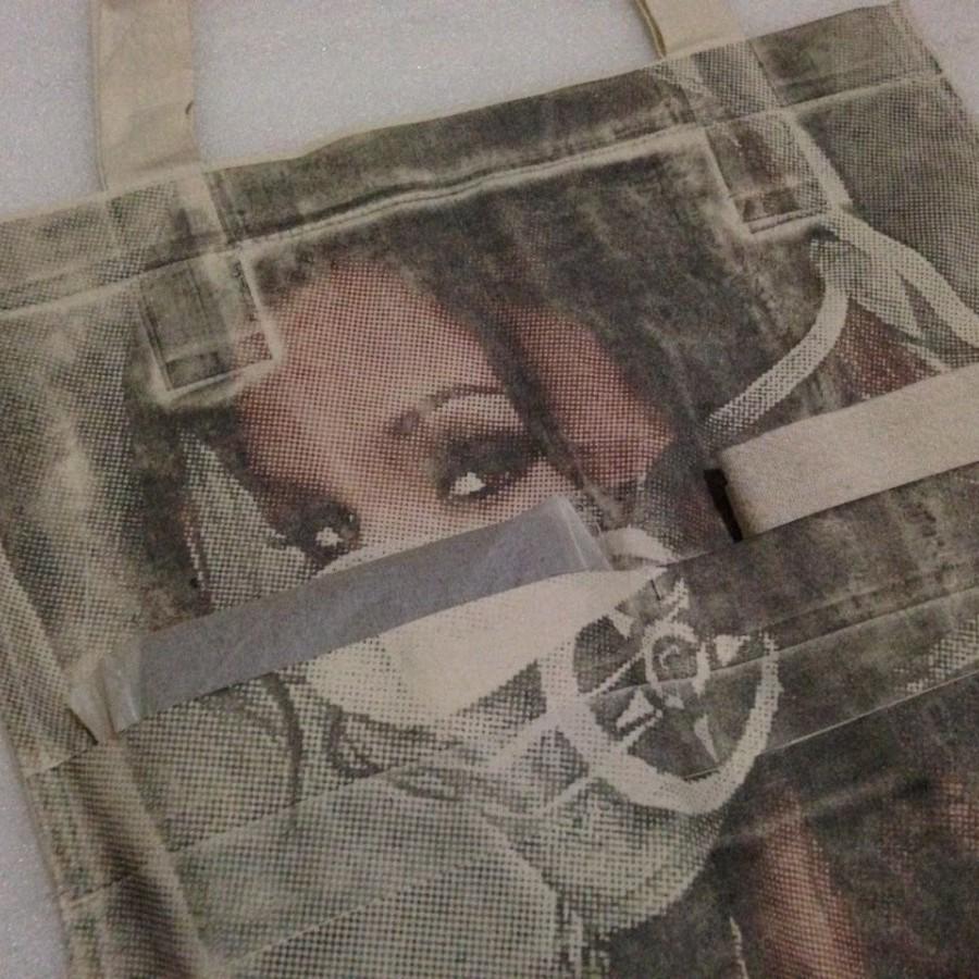 tote bag blasu no.9 limited edition