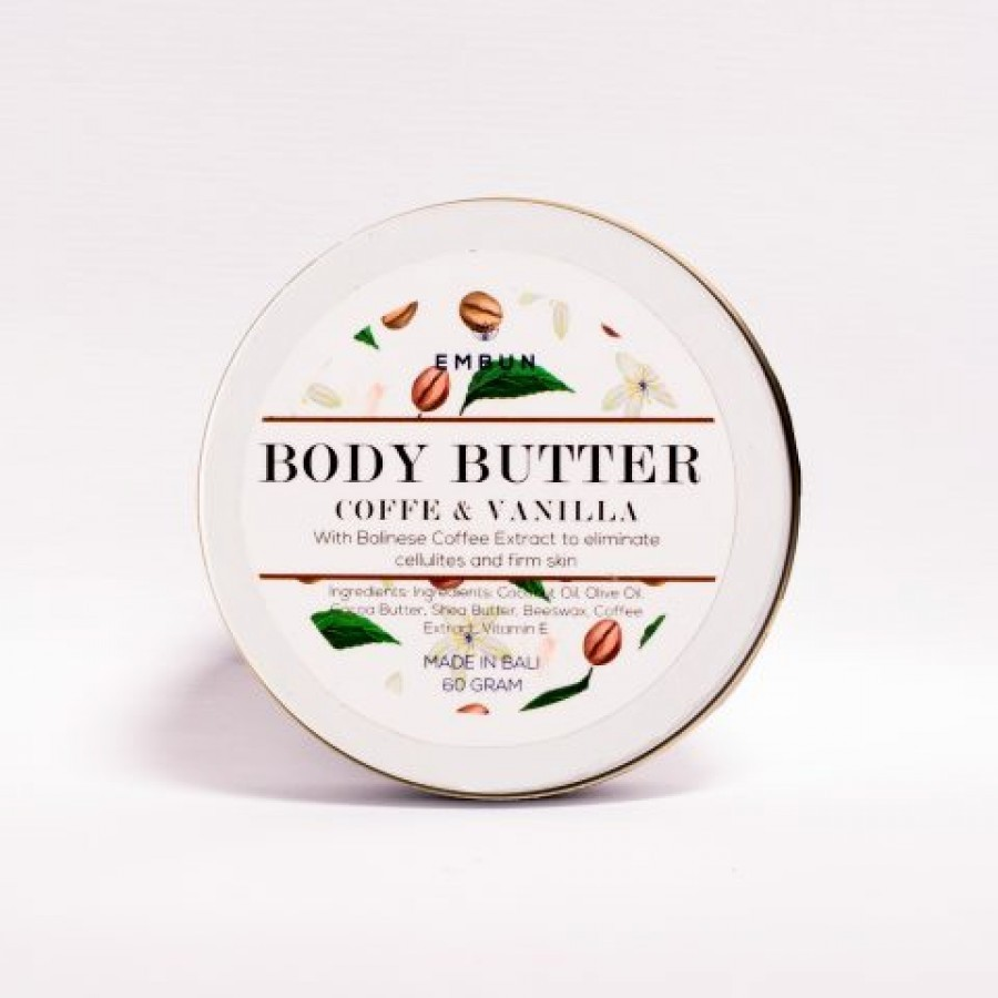 Body Butter Coffee and Vanilla 60 gr