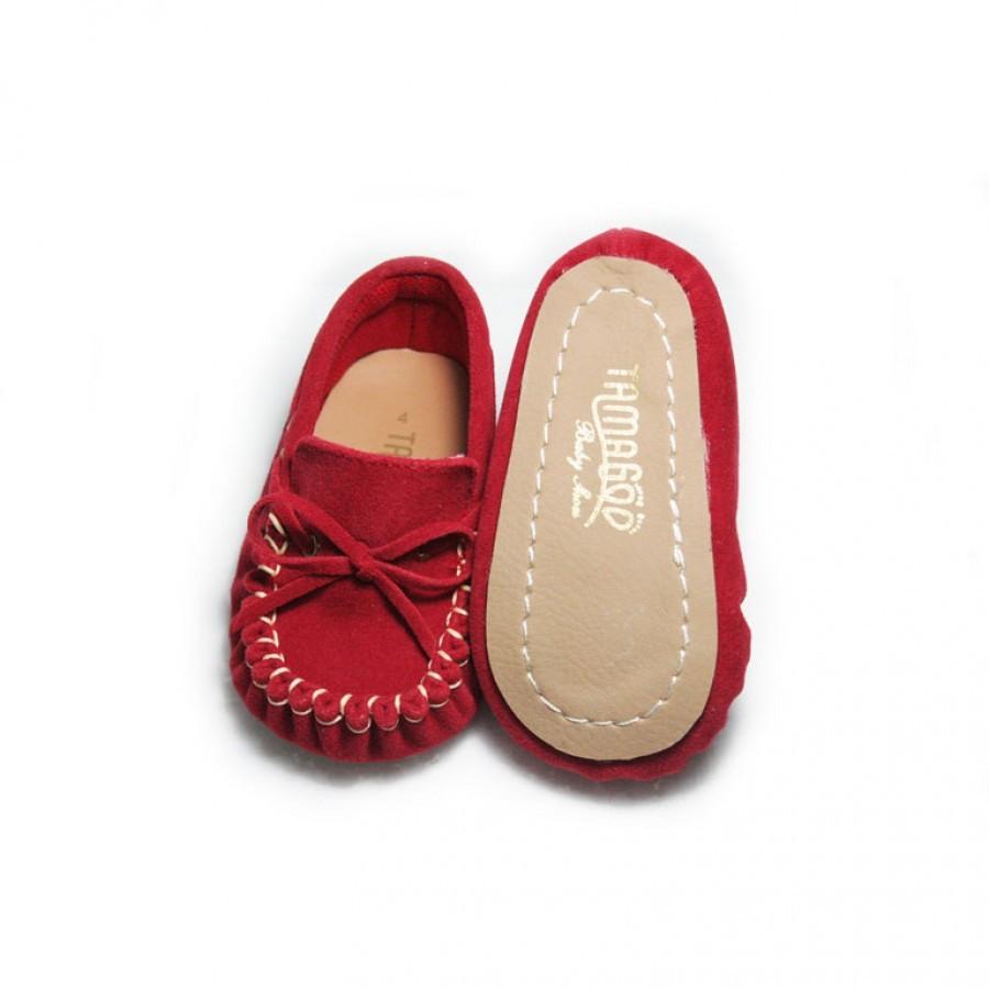 Tamagoo Sepatu Bayi Laki Baby Shoes Prewalker Marc Red Daftar Alex Series  3 6 Bulan Abu Muda Murah