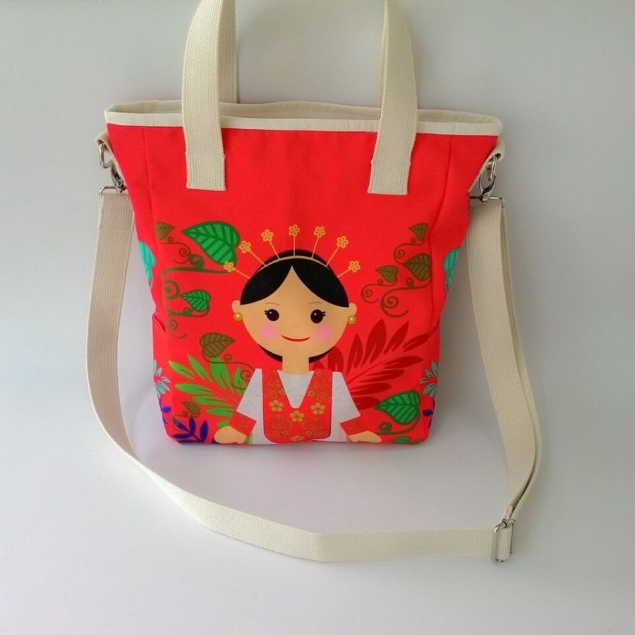 Nammina Home Totebag Katreji Dancer Red - Nammina Home