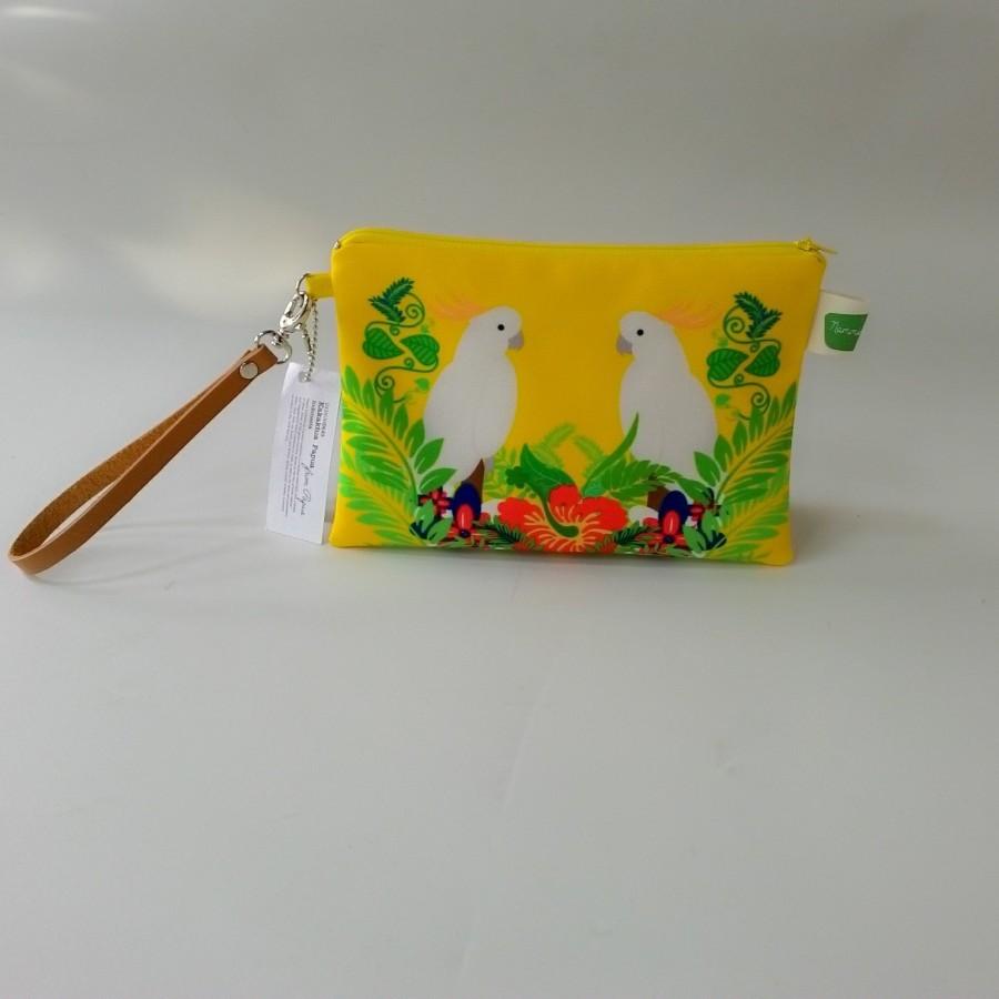 Nammina Home Handbag & Pouch Kakak Tua - Kuning
