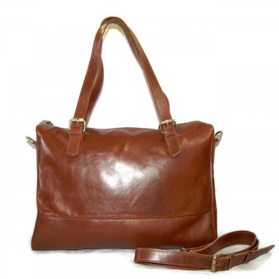 Tas Wanita Kulit Asli Jahit Sambung Serut Selempang - Drawstring Sling  Patchwork Leather Bag