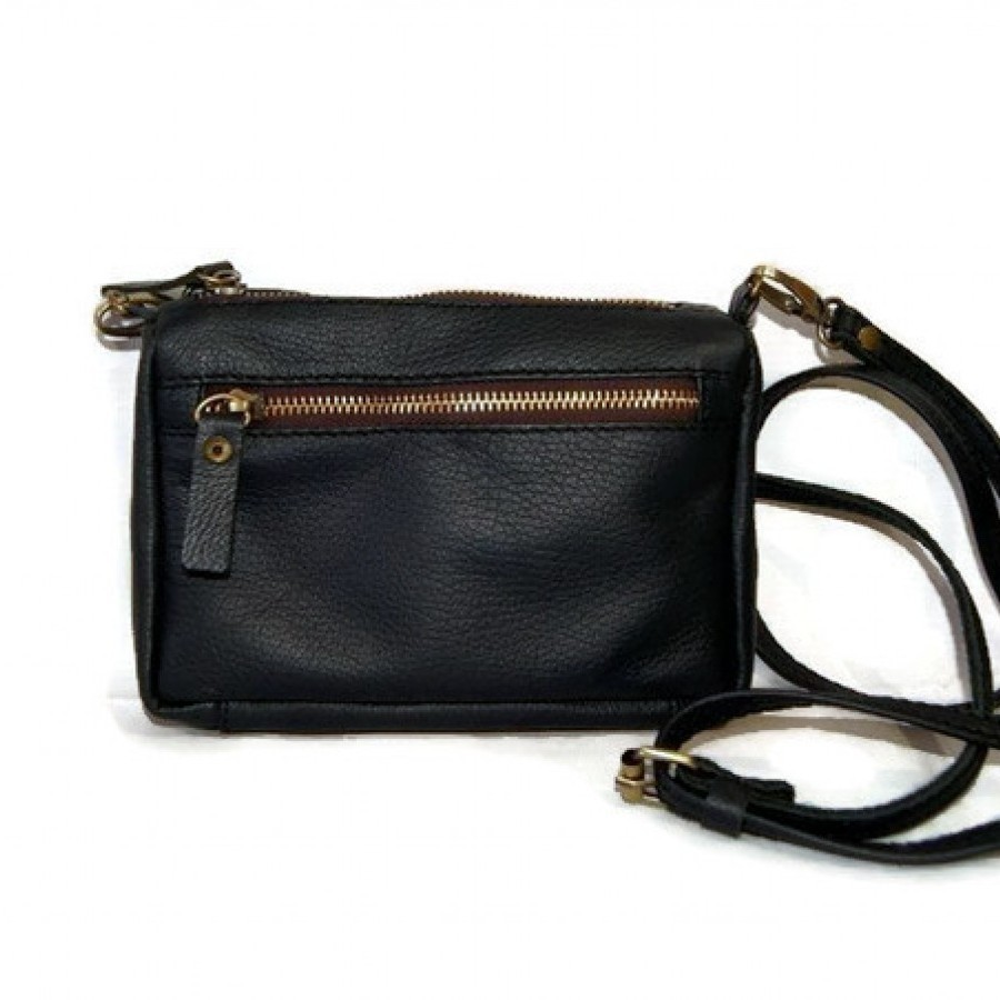 Tas Selempang Wanita Kulit Asli Mini - Mini Sling Leather Bag