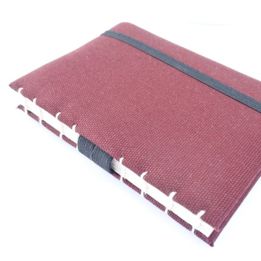 Handmade Journal Sketchbook canvas Cover