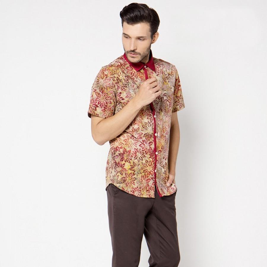 [Arthesian] Kemeja Batik Pria - David Batik Cap