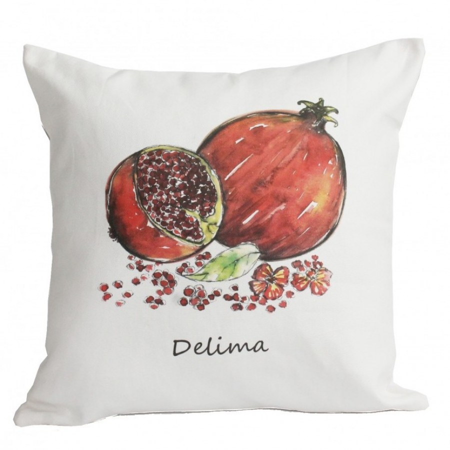 Cotton Canvas Cushion Cover Delima