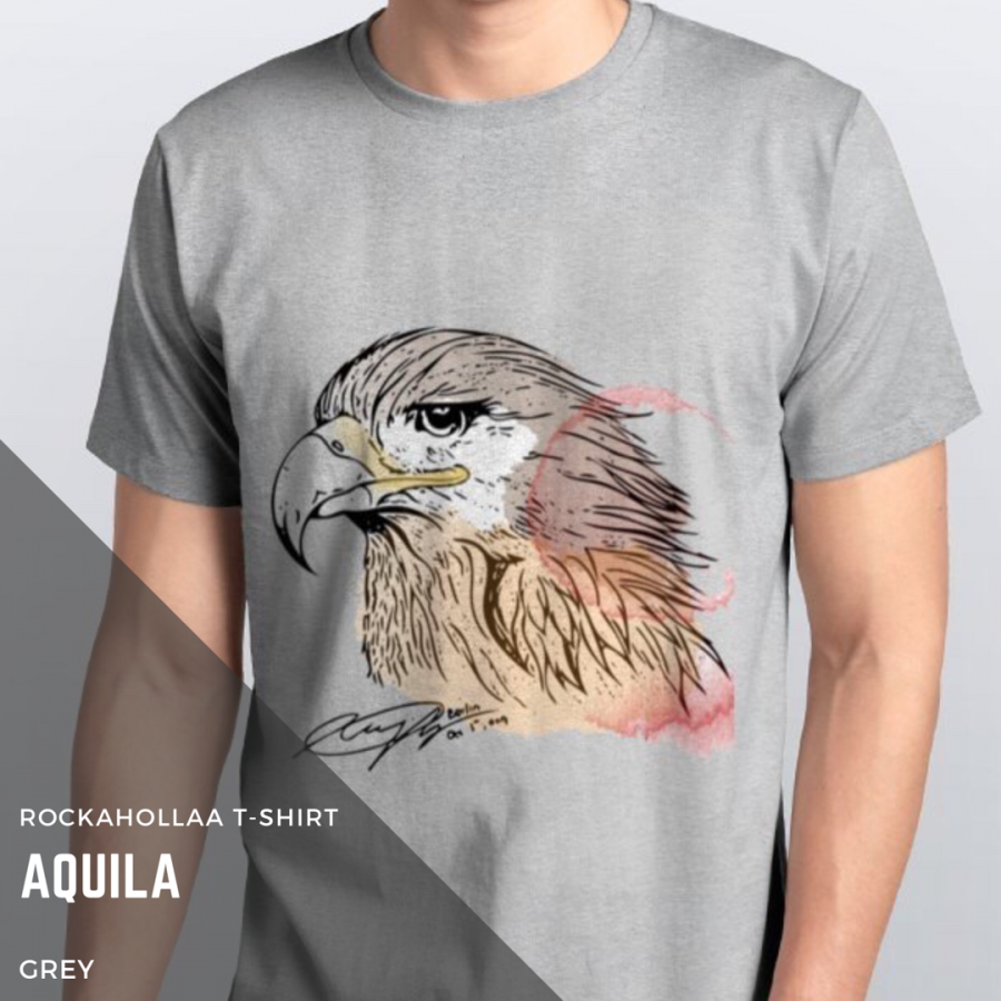 Rockahollaa T-Shirt Aquila available in 2 colors