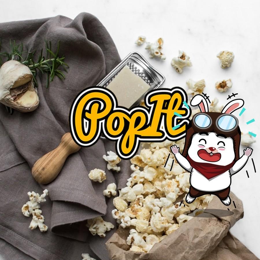 PopIt Snack Seasalt Popcorn Rasa Asin Gurih