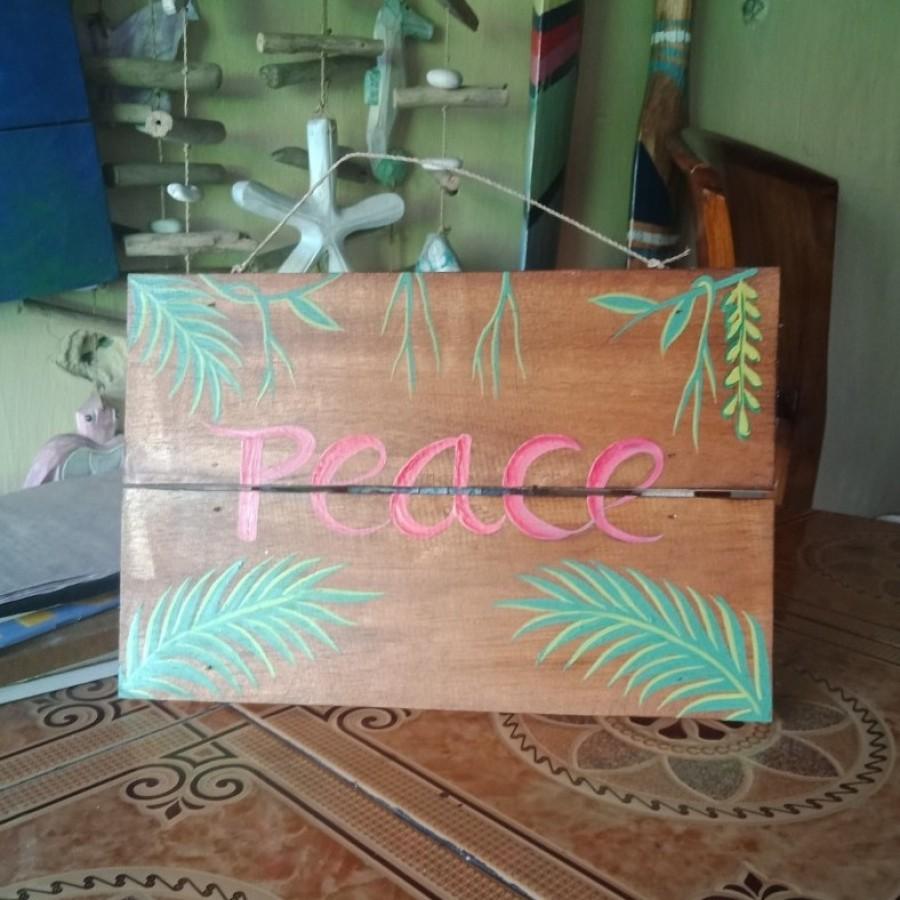 """Papan sambung """"peace"""""""