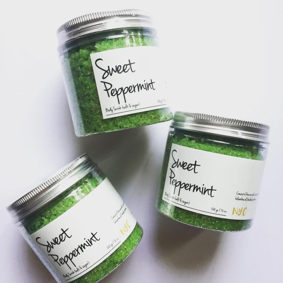 Sweet Peppermint mix Scrub