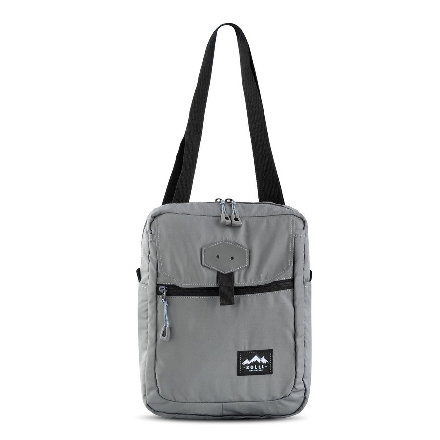Sling Bag, Sollu Nocturnal Series, Grey