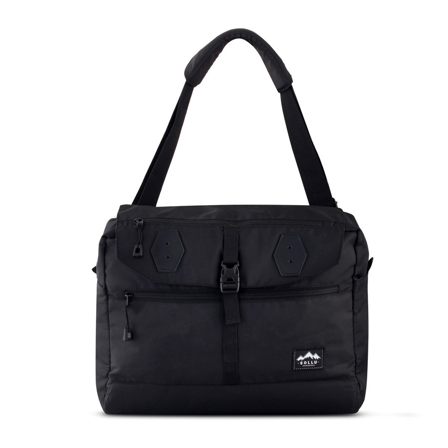 Sling Bag, Sollu Orvus Series, Black