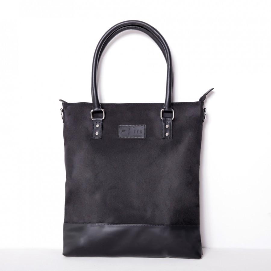 Tote Bag Boston 302 Black