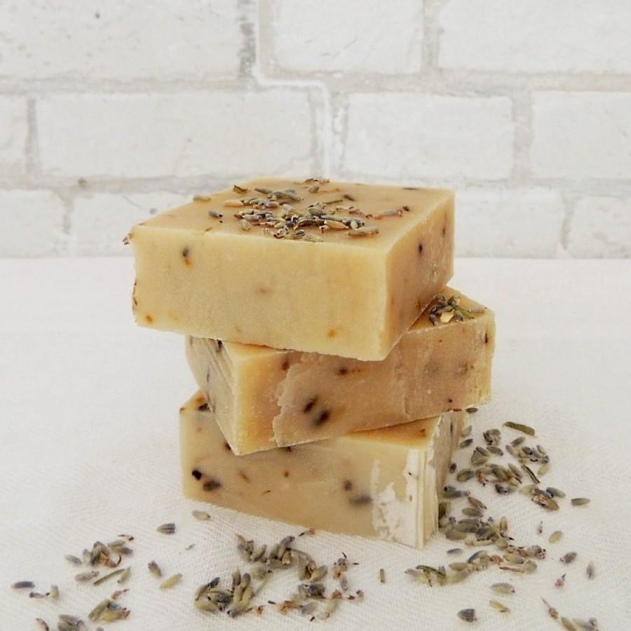 Goat Milk Soap Bar - Lavender