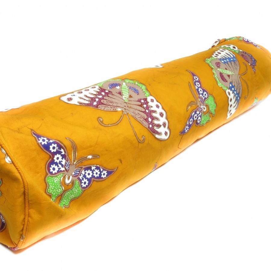 Orange Yogamatras Bag Batik