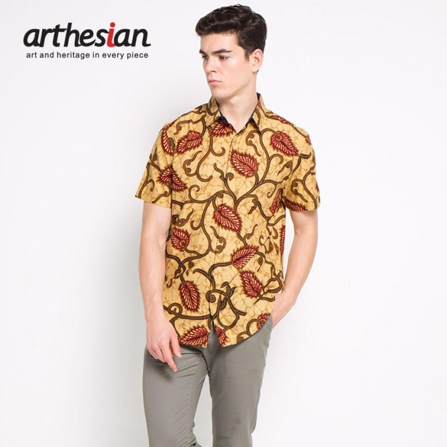 [Arthesian] Kemeja Batik Pria - Javanica Batik Printing