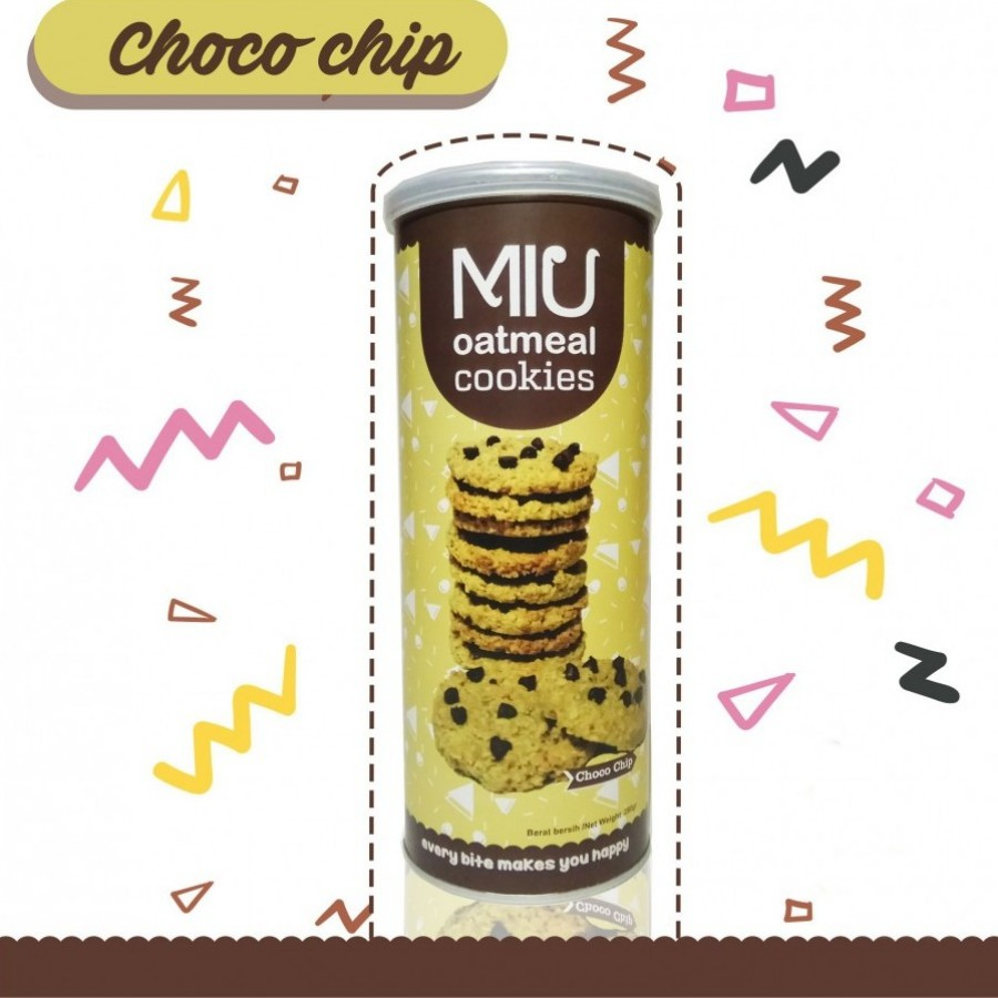 MIU Oatmeal Cookies Choco Chip Besar